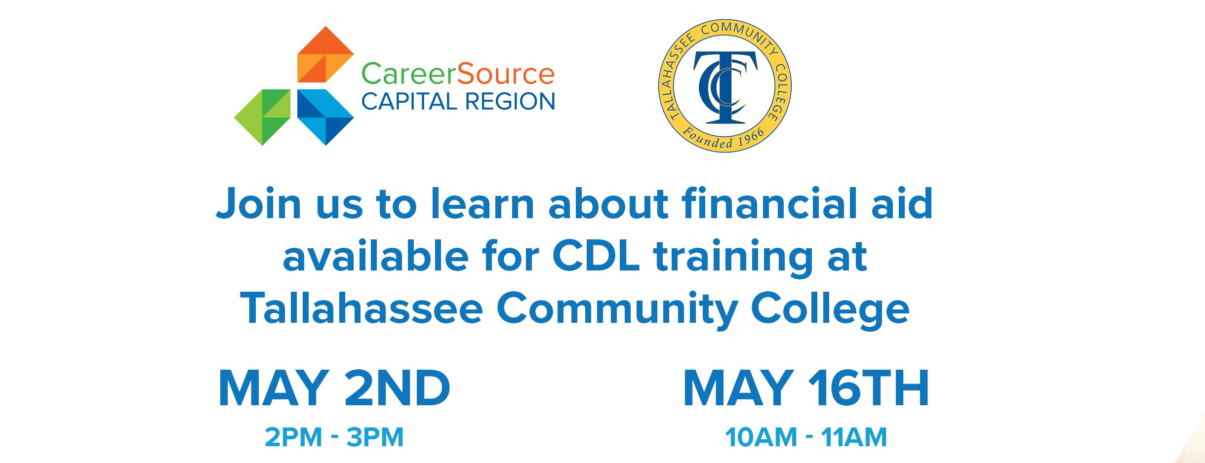 TCC CDL Training Information Session