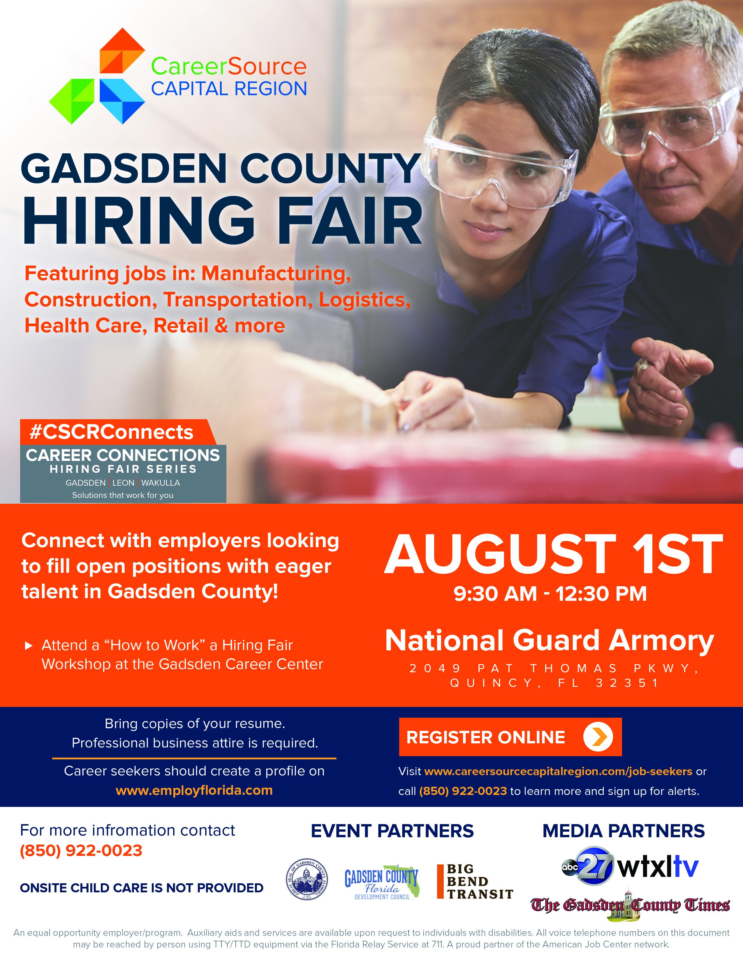 Gadsden County Hiring Fair