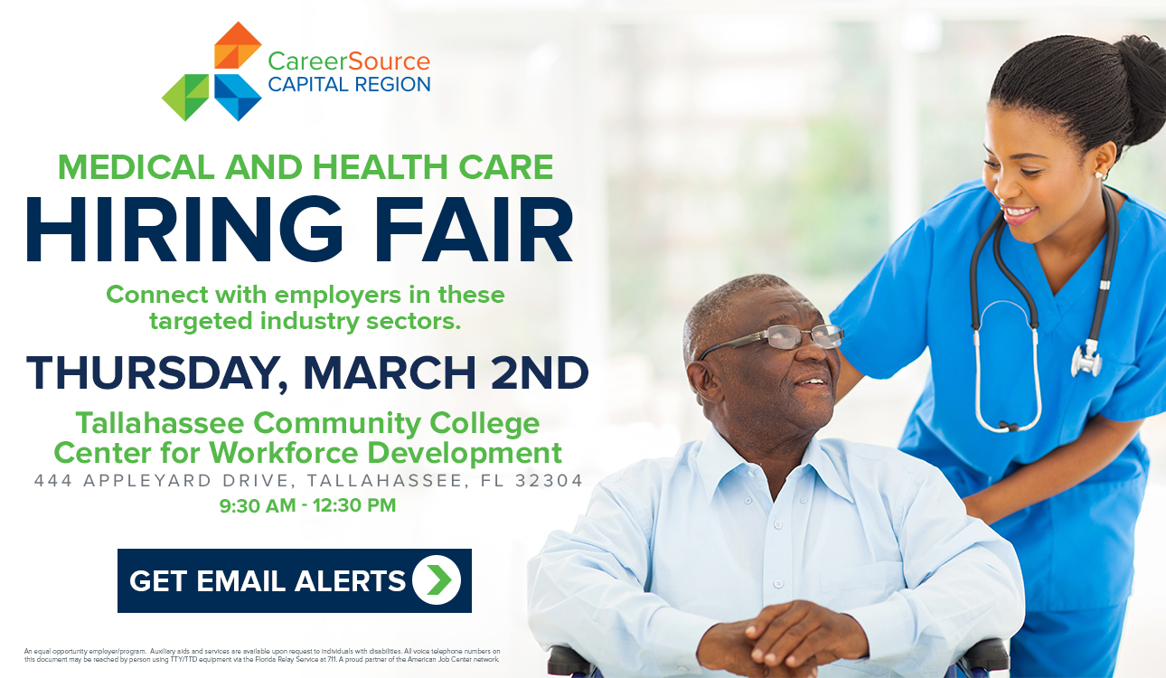 Medical and Health Care Hiring Fair