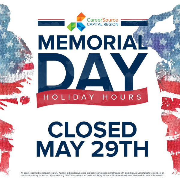 ALL OFFICES CLOSED - Memorial Day Holiday