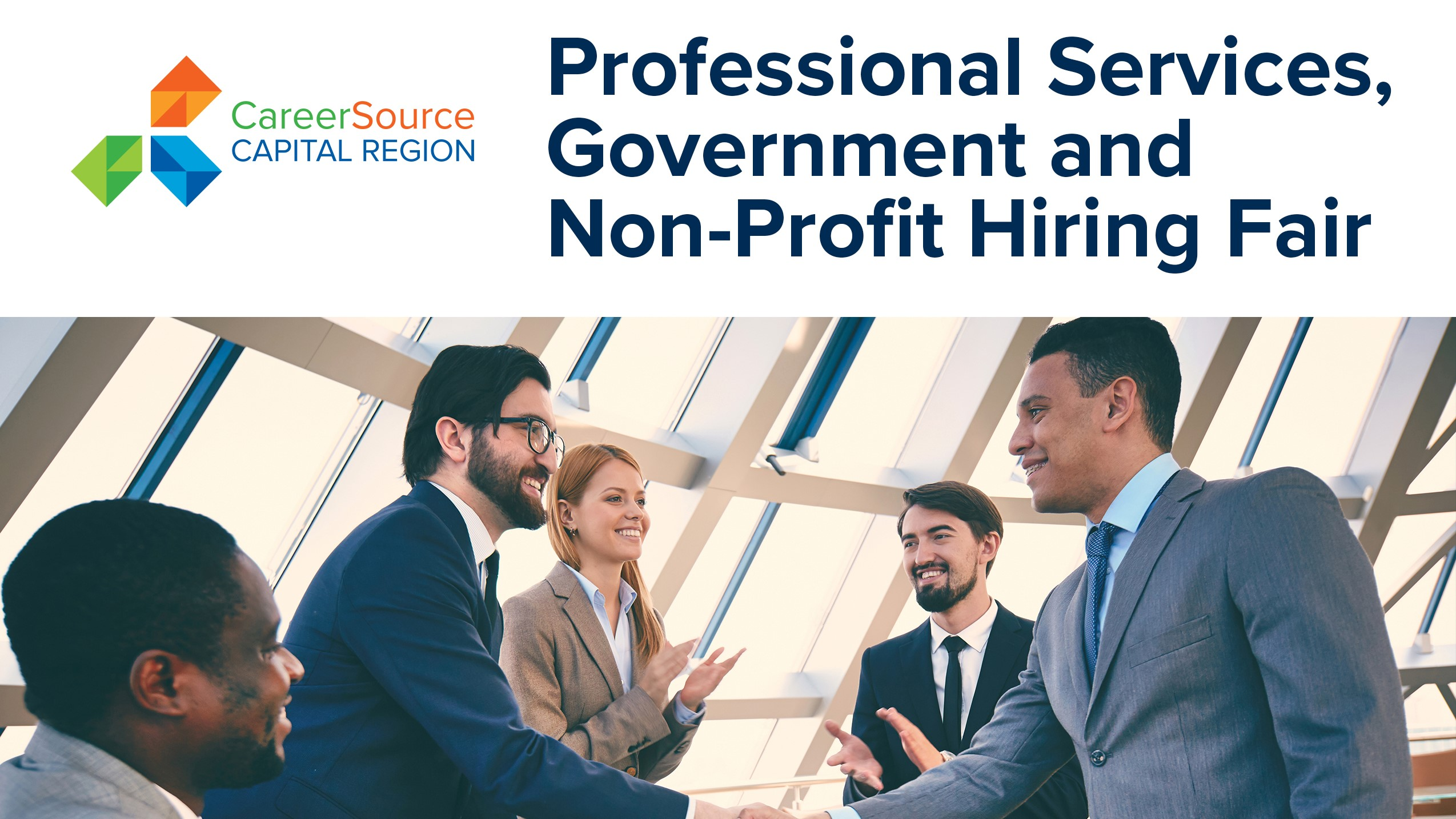 Professional Services, Government, and Non-Profit Hiring Fair